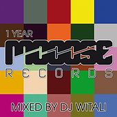 1 Year Mooose Records Mixed By DJ Witali by Various Artists
