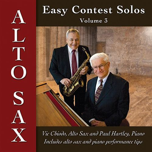 Easy Contest Solos, Vol. 3 by Vic Chiodo