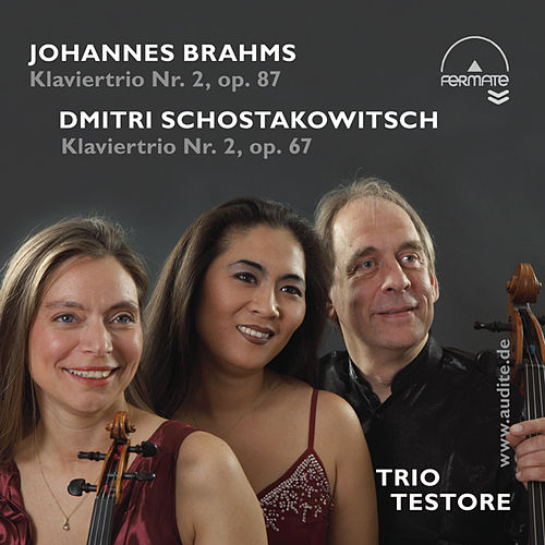 Piano Trios by Brahms (Op. 87) & Schostakowitsch (Op. 67) by Trio Testore