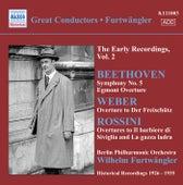 Beethoven, L. Van: Symphony No. 5 / Egmont Overture / Weber, C.M. Von: Der Freischutz Overture (Furtwangler, Early Recordings, Vol. 2) (1926-1935) by Wilhelm Furtwängler