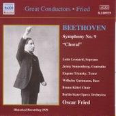 Beethoven: Symphony No. 9 (Fried) (1929) by Lotte Leonard