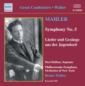 Mahler: Symphony No. 5 / Lieder Und Gesange Aus Der Jugendzeit (Walter) (1947) by Various Artists