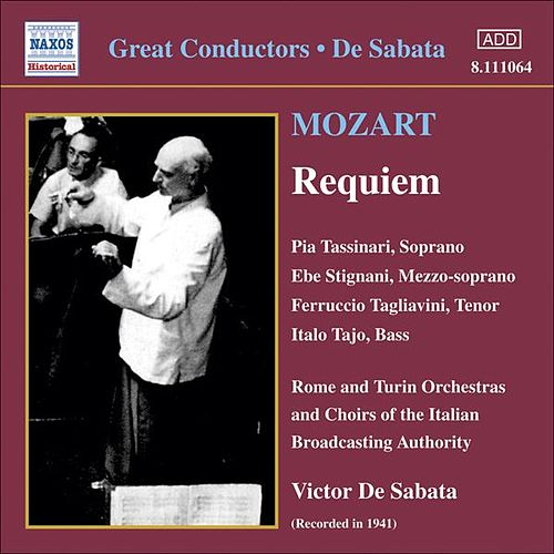 Mozart: Requiem in D Minor (Tassinari, Tagliavini, De Sabata) (1941) by Ferruccio Tagliavini