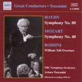 Haydn: Symphony No. 88 / Mozart: Symphony No. 40 (Toscanini) (1938-1939) by Arturo Toscanini