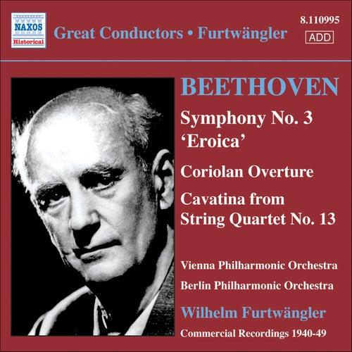 Beethoven: Symphony No. 3 / Coriolan Overture by Wilhelm Furtwängler