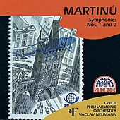 Martinů: Symphonies Nos. 1 & 2 by Various Artists