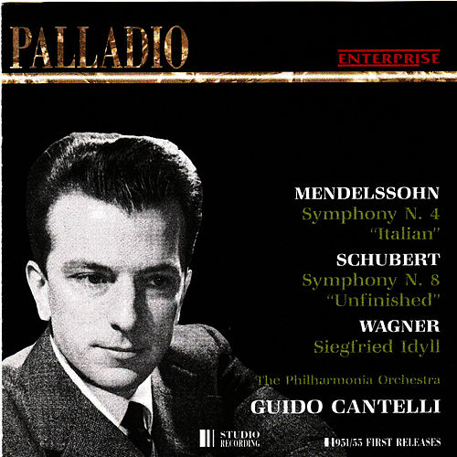 Mendelssohn, Schubert, Wagner by Philharmonia Orchestra