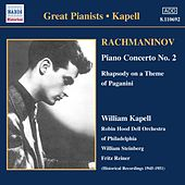 Rachmaninov: Piano Concerto No. 2 / Rhapsody On A Theme of Paganini (Kapell) (1950-1951) by William Kapell