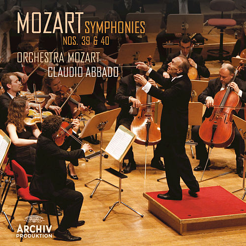 Mozart: Symphonies Nos.39 & 40 by Wolfgang Amadeus Mozart