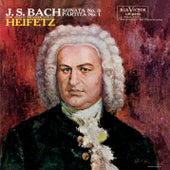 Bach: Sonata No. 3, BWV 1005, in C, Partita No. 1, BWV 1002, in B Minor by Jascha Heifetz