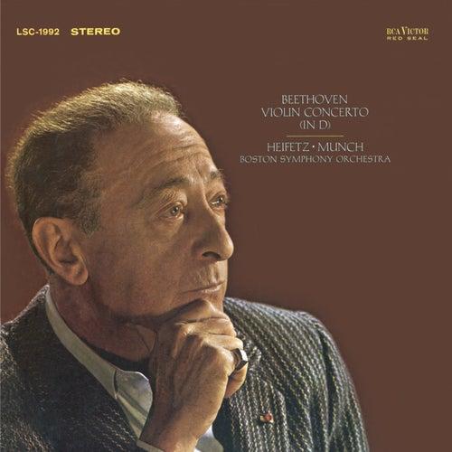 Beethoven: Violin Concerto in D, Op. 61 by Jascha Heifetz