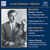 Brahms: Double Concerto / Violin Sonata No. 3 / Beethoven: Violin Sonata No. 5 (Milstein) (1950-51) by Various Artists