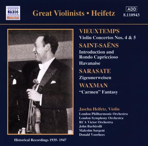 Vieuxtemps: Violin Concertos Nos. 4 and 5 (Heifetz) (1935-1947) by Jascha Heifetz