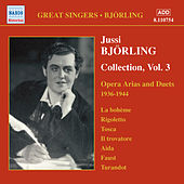 Bjorling, Jussi: Bjorling Collection, Vol. 3: Opera Arias and Duets (1936-1944) by Jussi Bjorling