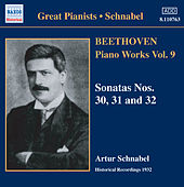 Beethoven: Piano Sonatas Nos. 30-32 (Schnabel) (1932) by Artur Schnabel