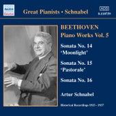 Beethoven: Piano Sonatas Nos. 14-16 (Schnabel) (1933-1937) by Artur Schnabel