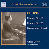 Chopin: Etudes (Complete) (Cortot, 78 Rpm Recordings, Vol. 3) (1933-1949) by Alfred Cortot
