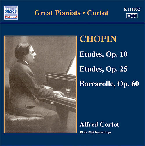Chopin: Etudes (Complete) (Cortot, 78 Rpm Recordings, Vol. 3) (1933-1949) by Alfred Cortot