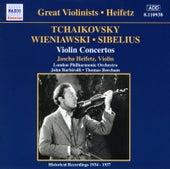 Tchaikovsky / Wieniawski / Sibelius: Violin Concertos (Heifetz) (1935-1937) by Jascha Heifetz