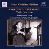 Prokofiev / Gruenberg: Violin Concertos (Heifetz) (1937, 1945) by Jascha Heifetz