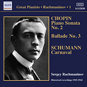 Rachmaninov, Sergei: Piano Solo Recordings, Vol.  1 - Victor Recordings (1925-1942) by Sergei Rachmaninov