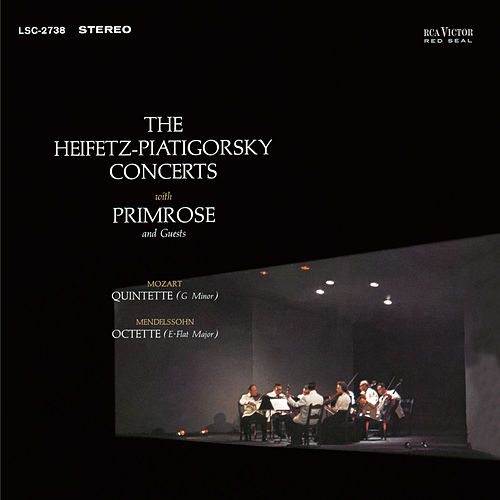 Mendelssohn: Octet, Op. 20, in E-Flat, Mozart: Quintet, K. 516 in G Minor by Jascha Heifetz