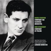 Shapero: Symphony for Classical Orchestra; Stravinsky: Symphony of Psalms by Leonard Bernstein