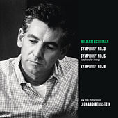 Schuman: Symphony No. 3; Symphony for Strings (Symphony No. 5); Symphony No. 8 by Leonard Bernstein