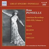 Ponselle, Rosa: American Recordings, Vol. 1 (1923-1929) by Rosa Ponselle