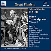 Bach, J.S.: Piano Transcriptions, Vol. 2 (Great Pianists) (1925-1950) by Various Artists