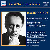 Rachmaninov: Piano Concerto No. 2 / Rhapsody On A Theme of Paganini (Rubinstein) (1946-1950) by Arthur Rubinstein