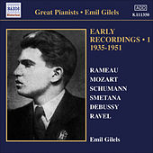 Gilels, Emil: Early Recordings, Vol. 1 (1935-1951) by Emil Gilels
