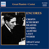 Cortot, Alfred: Encores - 78 Rpm Recordings (1925-26) by Alfred Cortot