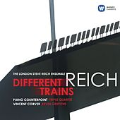 Reich: Different Trains, Piano Counterpoint, Triple Quartet von London Steve Reich Ensemble
