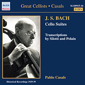 Bach, J.S.: Cello Suites Nos. 1-6 (Casals) (1927-1939) by Pablo Casals