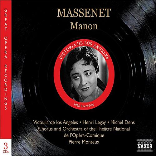 Massenet: Manon (Los Angeles, Legay, Monteux) (1950) by Various Artists