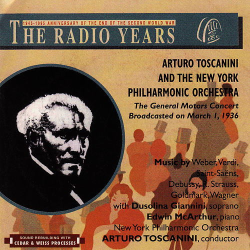 The Radio Years, The General Motos Concert by New York Philharmonic