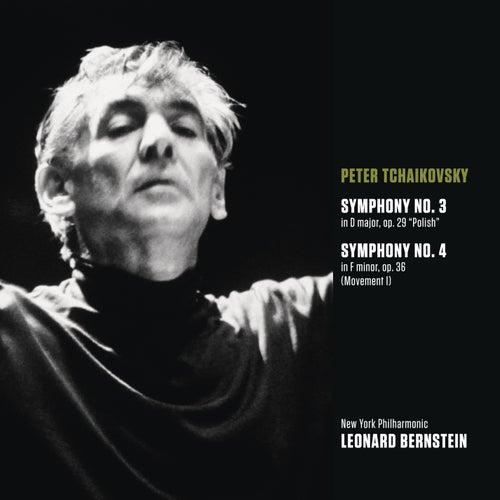 Tchaikovsky: Symphony No. 3 in D major, op. 29 'Polish'; Symphony No. 4 in F minor, op. 36 (Movt. I) by Leonard Bernstein