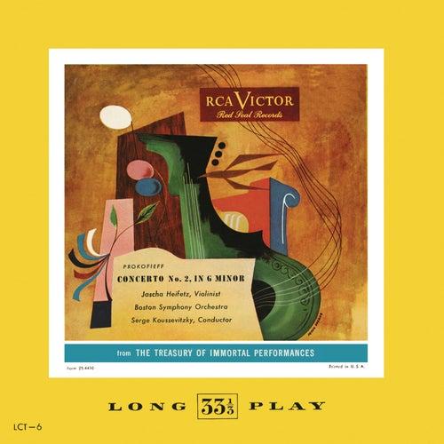 Prokofieff: Violin Concerto No. 2, Op. 63 in G Minor by Jascha Heifetz