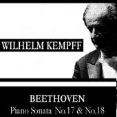 Beethoven: Piano Sonata No.17 and No.18 by Wilhelm Kempff