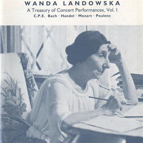 A Treasury of Concert Performances, Vol. 1 by Wanda Landowska