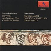 Rosenzweig: Diptych - Froom: Piano Quartet - Down to a Sunless Sea - Piano Sonata by Various Artists