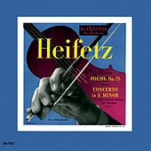 Chausson: Poème, Op. 25, Conus: Violin Concerto in E Minor, by Jascha Heifetz