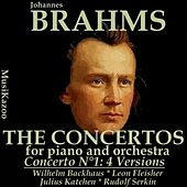 Brahms : Concerto No. 1 (Four versions) by Various Artists