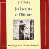 Les chansons de l'Histoire 1920 - 1924 by Various Artists