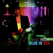 Blue in Red by Gregor Hilden