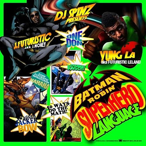 Batman and Robin (Superhero Language) von Yung LA