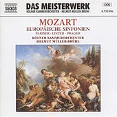 Mozart: European Symphonies (Symphonies Nos. 31, 36, and 38) by Helmut Muller-Bruhl