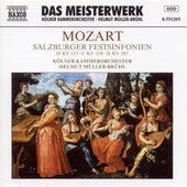 Mozart: Salzburg Festival Symphonies (Symphonies Nos. 20, 34 and 35) by Helmut Muller-Bruhl