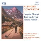 Alphorn Concertos by Jozsef Molnar